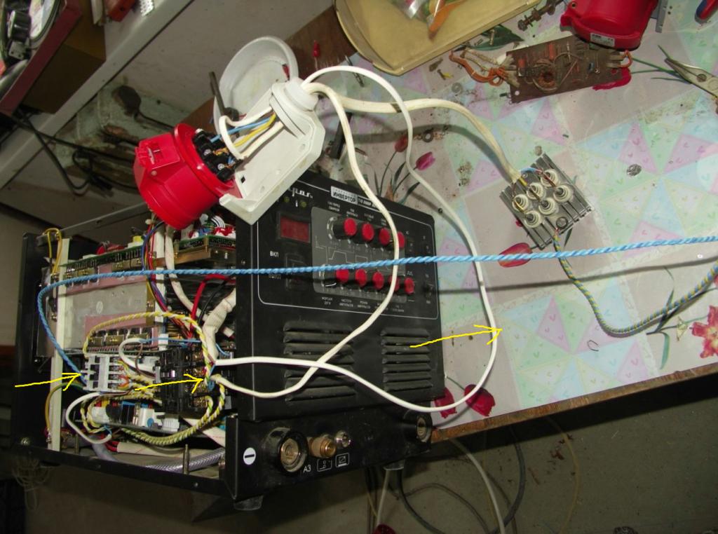 Самодельный трехфазный сварочный аппарат: ШАГ 3