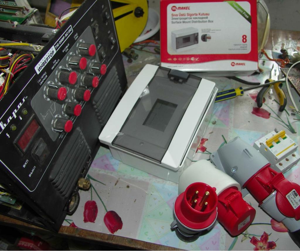 Самодельный трехфазный сварочный аппарат: Завершающий этап