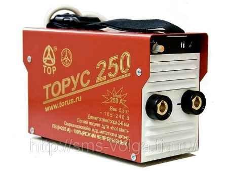 Купить Сварочный инвертор ТОРУС-250 ЭКСТРА