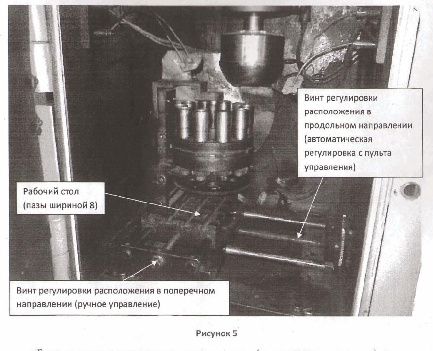 установка электронно-лучевой сварки внутри